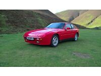 PORSCHE 944 2.5 LUX/1985.5/134K/MOT 27TH MAY 2017(NO ADVISORIES)