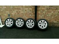 "Vauxhall 16"" Inch Alloy Wheels with Tyres. ASTRA/VECTRA/Zafira"