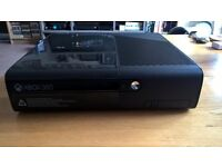 Xbox 360 E console plus controller, games and cables