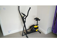 EXERCISE TRAINING BIKE.IN VERY GOOD CONDITION. USED FOR ABOUT YEAR.