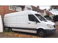 Man with van delivery service van hire call text 07473775139