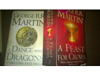 Game of thrones books x2