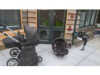 graco oram/stroller carseay and base