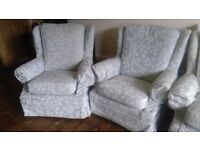 G plan suite . Sofa plus two armchairs £60