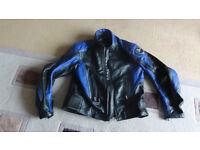 Leather Lookwell motorbike jacket
