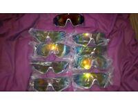 9 x sets of polarised cycling sunglasses