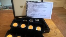 WESTMINSTER MINT US DOLLAR PRESIDENTIAL 9/16 COIN SET BOX & CERTIFICATE