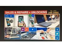 PHONE /LAPTOP REPAIR/SERVICE & SALES BUSINESS FOR SALE.