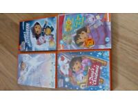 Christmas Dora the Explorer DVD & 3 others