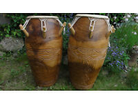 African kpan logo drums for sale
