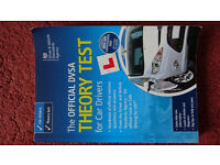DVSA car theory test book with Q and A tips to help you pass your theory test