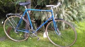 starnord 23.5 in frame vintage gents cycle,new tyres,absolute classic city bike,runs well