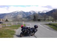 Motorcycle Bike Trip Journey Spain France Italy Austria Slovenia Europe