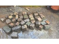 used cobble stones , sets,