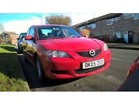 Mazda 3 petrol - new tyres, clotch and battery
