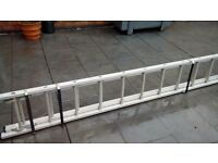 Quality Double Crawler Ladder Extending to Approx 8 Mtr .Not had alot of use. Excellent Condition.