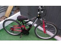 Appollo FS24 mountain bike age 8-11