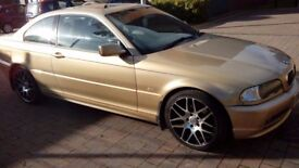 BMW 320ci Coupe 18 wheels new tyres Service history