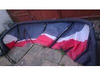flexifoil 12m atom kitesurfing kite