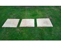 3 Sandstone Paving Slabs