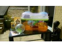 Hamster cage & accessories