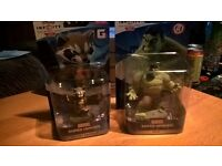 Disney Infinity figures Hulk and Rocket Racoon NEW & Boxed Marvel