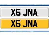 BMW X6 private registration