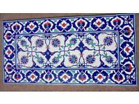 Turkish mosaiic tiles