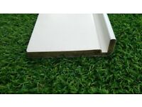 White UPVC Fascia Capping Board length 3,2m width 160mm thickness 16mm unused very good condition