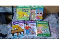 Set of 5 Kids Early Reader Biff and Chip Books