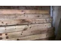 Wooden Fence Posts - New and treated