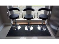 3 x Kitchen Barstools - £15