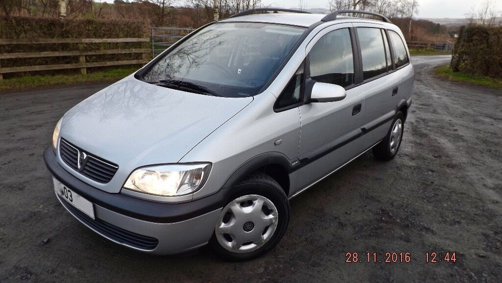 VAUXHALL ZAFIRA - 12 MONTHS MOT - 7 SEATER - FULL SERVICE HISTORY - 93,000 MILES
