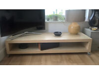 Ikea - Contemporary Coffee or TV table with castors - Beautiful condition