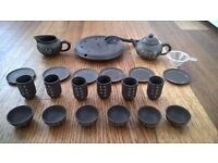 Handmade Chinese Tea Set 23 items bargain