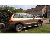 Hyundai Santa Fe - as whole or parts, almost all available
