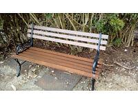 Nice old garden bench