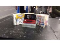 Nintendo ds & 5 Games
