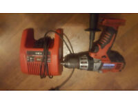 milwaukee 28v drill with out battery good working