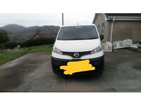 Nissan NV200 van for sale 2016. Three years manufacturing warranty, recently serviced, new tires.