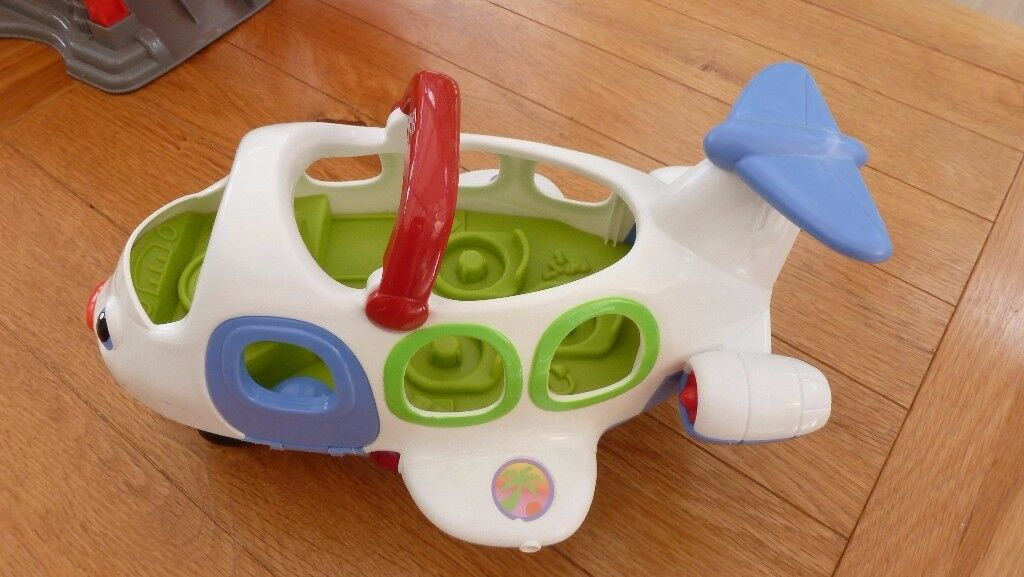 fisher price little people plane with lights and sounds