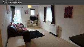 One bedroom penthouse apartment overlooking Chester race course fully furnished