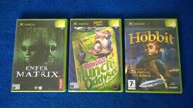 ORIGINAL XBOX GAMES (including ODDWORLD)