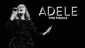 2 x Adele standing tickets Wembley Stadium Saturday 1st July