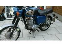 MZ TS150 Motorbike