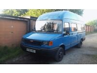 2001 LDV CONVOY Minibus 12months MOT Gutted and Extensive Welding Done-Ideal camper Ready to build