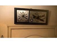 1939-1945 MEMORIAL SPITFIRE CLOCK