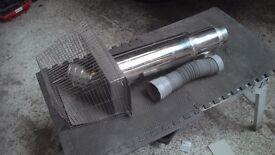Firebird combi boiler low level flue kit