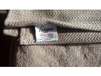 LINEA from house of fraser bath sheet and hand towel new £15