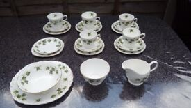 colclough tea set ivy leaf